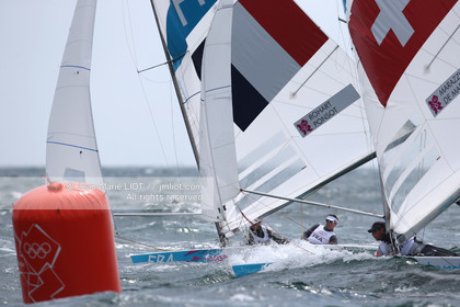 LONDON 2012 - SAILING - STAR MEN.