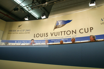 LOUIS VUITTON CUP 2002 - NEW ZEALAND