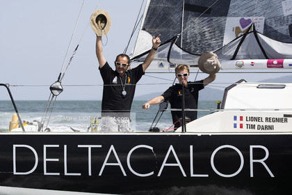 Class 40 APRIL DELTACALOR, Lionel Regnier, Tim Darni