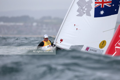 LONDON 2012 - SAILING - LASER MEN.